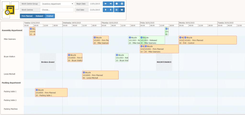 Production Scheduler