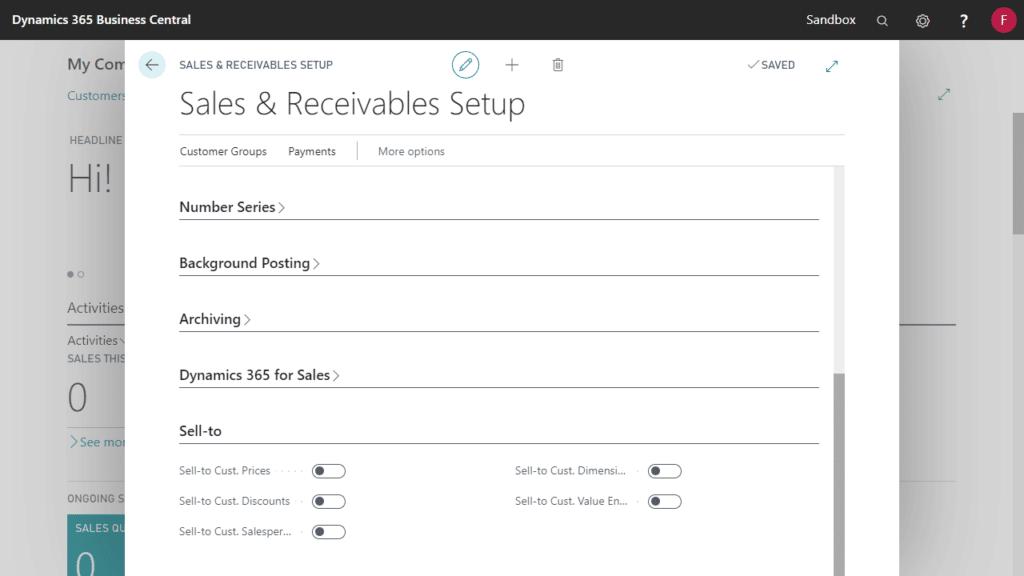 sales-receivables-setup