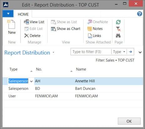Report Distributor