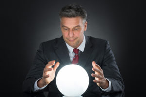 Consulting companies don't have a crystal ball